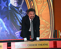 """LOS ANGELES, USA. April 23, 2019: Mark Ruffalo at the handprint ceremony for the cast of """"Avengers: Endgame"""" at the TCL Chinese Theatre.<br /> Picture: Paul Smith/Featureflash"""