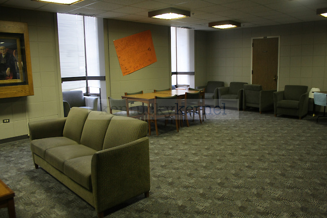 Common room in Kirwan Tower in Lexington, Ky. Photo by Quianna Lige | Staff
