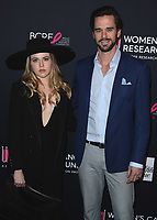 BEVERLY HILLS, CA - FEBRUARY 27:   Majandra Delfino and David Walton at An Unforgettable Evening at the Beverly Wilshire Four Seasons Hotel on February 27, 2018 in Beverly Hills, California. (Photo by Scott Kirkland/PictureGroup)