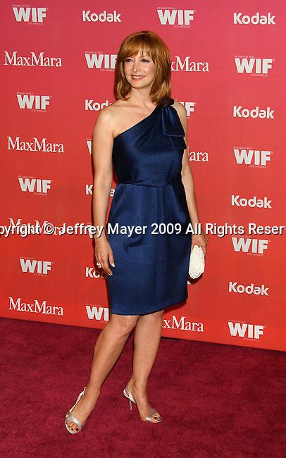 CENTURY CITY, CA. - June 12: Sharon Lawrence arrives at Women In Film's 2009 Crystal + Lucy Awards held at the Hyatt Regency Century Plaza on June 12, 2009 in Century City, California.