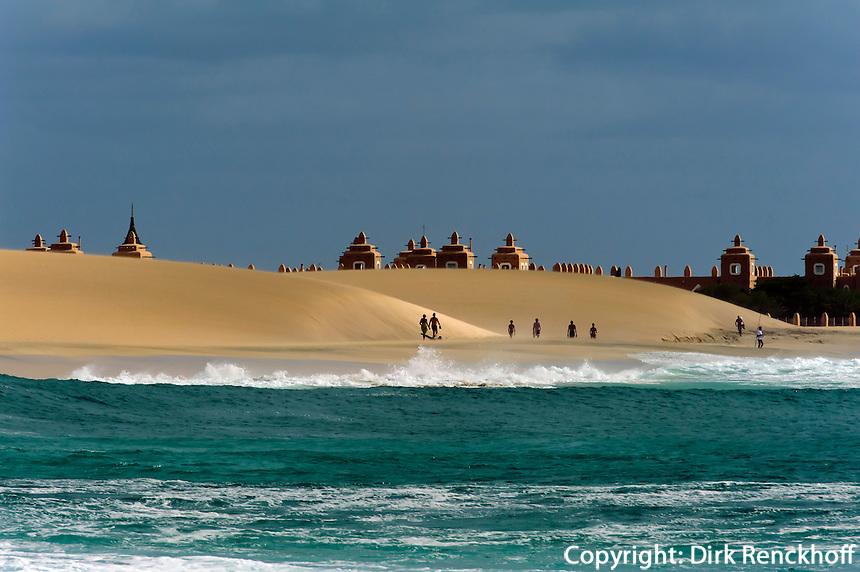 Strand beim Riu-Hotel, Sal, Kapverden, Afrika