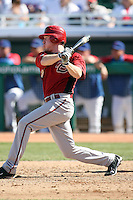 Rusty Ryal. Arizona Diamondbacks spring training game vs. Chicago Cubs at Hohokam Stadium, Mesa, AZ - 03/05/2010.Photo by:  Bill Mitchell/Four Seam Images.