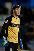 Joe Wildsmith of Sheffield Wednesday seen during the Sky Bet Championship match between Millwall and Sheff Wednesday at The Den, London, England on 20 February 2018. Photo by Carlton Myrie.