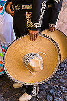 Mexican dancers in costume during folkloric performance at the Casa Herradura tequila distillery, town of Tequila, Jalisco, Mexico