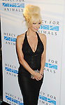 WEST HOLLYWOOD, CA- SEPTEMBER 12: Actress Pamela Anderson attends Mercy For Animals 15th Anniversary Gala at The London on September 12, 2014 in West Hollywood, California.