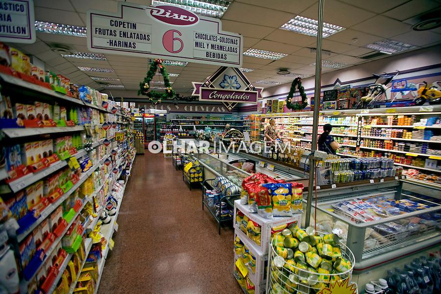 Supermercado em Montevidéu. Uruguai. 2009. Foto de Caetano Barreira.