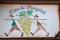 Europe/France/Rhône-Alpes/74/Haute-Savoie/Bossey: Enseigne du  restaurant: La Ferme de l'Hospital