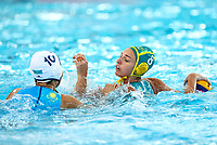 Australia v Kazakstan. FINA World Waterpolo League, National Aquatic Centre, Auckland, New Zealand, Wednesday 4 April 2018. Photo: Simon Watts/www.bwmedia.co.nz