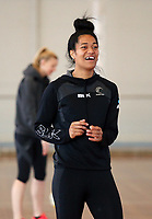 10.10.2017 Silver Ferns Temalisi Fakahokotau in action during the  Silver Ferns training in Adelaide. Mandatory Photo Credit ©Michael Bradley.