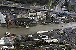 Ariel View of the River Boyne Showing the South Side of the River.Pic Fran Caffrey Newsfile