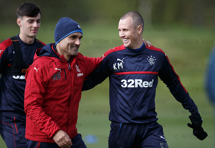Kenny Miller and Helder Baptista