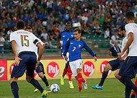 Antoine Griezmann during the  friendly  soccer match,between Italy  and  France   at  the San  Nicola   stadium in Bari Italy , September 01, 2016<br /> <br /> amichevole di calcio tra le nazionali di Italia e Francia
