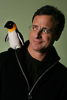 "Comedian BOB SAGET has a new DVD out called ""Farce of the Penguins"", an off-color faux documentary parody of ""March of the Penguins"".  Gramercy Park Hotel, 2 Lexington Av., NYC.  Newsday/ARI MINTZ  1/29/2007."