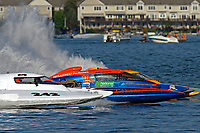"Bobby King, H-242, Marc Lecompte, H-104, Patrick Haworth, H-79 ""Bad Influence""    (H350 Hydro) (5 Litre class hydroplane(s)"
