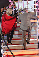 Jim Davidson, Linda Nolan at Celebrity Big Brother 2014 - Contestants Enter The House, Borehamwood. 03/01/2014 Picture by: Henry Harris / Featureflash
