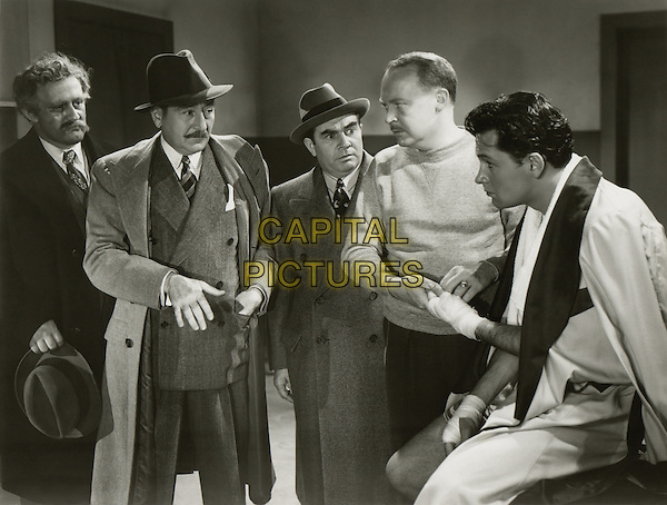 (L to R) Lee J. Cobb, Adolphe Menjou, Edward S. Brophy, Don Beddoe, William Holden.in Golden Boy.*Filmstill - Editorial Use Only*.CAP/PLF.Supplied by Capital Pictures.