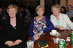 Margaret Barret, Geraldine Smith and Nancy Roche pictured at the Mattock Rangers Annual awards night held in their clubrooms Collon.