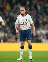 Spurs Legends Paul Gascoigne during the Tottenham Hotspur Legends v Inter Milan Legends during the 2nd test event at Tottenham Hotspur Stadium, High Road, London, England on 30 March 2019. Photo by Andrew Aleksiejczuk / PRiME Media Images.