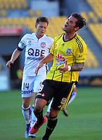 160320 A-League Football - Wellington Phoenix v Perth Glory