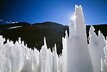 Nieve Penitente, Paso del Agua Negra, Cordillera de los Andes, Chile