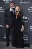 "Xavier Zanetti and his wife Paula attends the gala night for official presentation of the Presentation of the Pirelli Calendar 2019 ""The cal"" held at the Hangar Bicocca. Milan (Italy) on december 5, 2018. Credit: Action Press/MediaPunch ***FOR USA ONLY***"