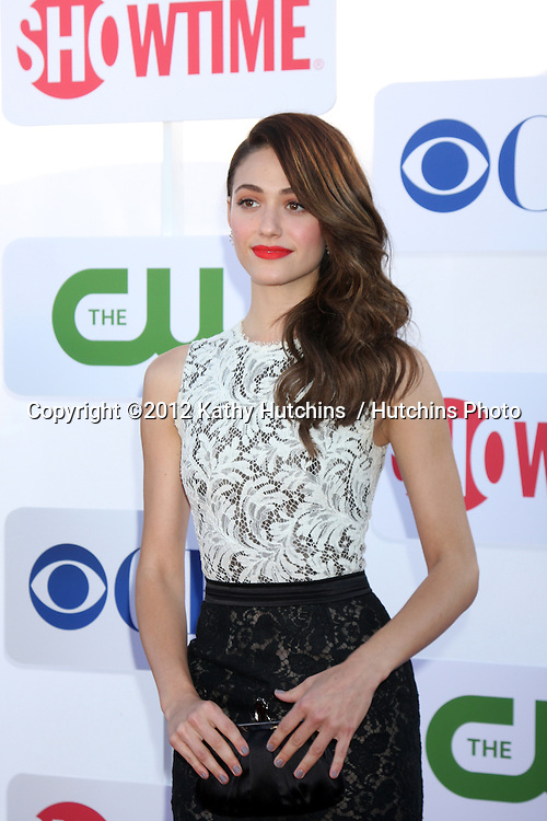 LOS ANGELES - JUL 29:  Emmy Rossum arrives at the CBS, CW, and Showtime 2012 Summer TCA party at Beverly Hilton Hotel Adjacent Parking Lot on July 29, 2012 in Beverly Hills, CA