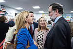 "Teodoro Garcvia Egea, Dolores de Cospedal, Ana Pastor and the former president of the government, Mariano Rajoy, in the presentation of the book ""Cada dia tiene su afan"" by former minister Jorge Fernandez Diaz.<br /> October 10, 2019. <br /> (ALTERPHOTOS/David Jar)"