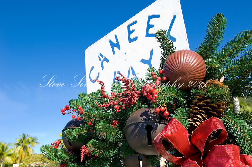 Caneel Bay Resort at  Christmas<br /> Virgin Islands National Park<br /> St. John, U.S. Virgin Islands