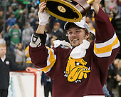 Kyle Schmidt (Duluth - 7) - The University of Minnesota-Duluth Bulldogs celebrated their 2011 D1 National Championship win on Saturday, April 9, 2011, at the Xcel Energy Center in St. Paul, Minnesota.