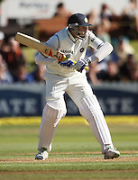 India's VVS Laxman bats during day one of the 3rd test between the New Zealand Black Caps and India at Allied Prime Basin Reserve, Wellington, New Zealand on Friday, 3 April 2009. Photo: Dave Lintott / lintottphoto.co.nz