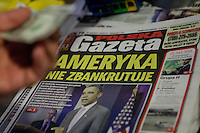 """A Polish newspaper is seen in a corner store in the Greenpoint neighborhood of New York City borough of Brooklyn, NY, Monday August 1, 2011. Greenpoint is sometimes referred to as """"Little Poland"""" due to its large population of working-class Polish immigrants, reportedly the second largest concentration in the United States after Chicago."""