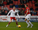 Martyn Woolford of Sheffield Utd marks Sam Ricketts of Coventry City - English League One - Sheffield Utd vs Coventry City - Bramall Lane Stadium - Sheffield - England - 13th December 2015 - Pic Simon Bellis/Sportimage-