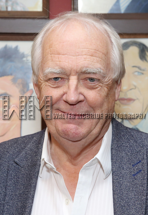 Tim Rice attends the Julie Taymor Sardi's Caricature unveiling at Sardi's Restaurant on November 3, 2017 in New York City.