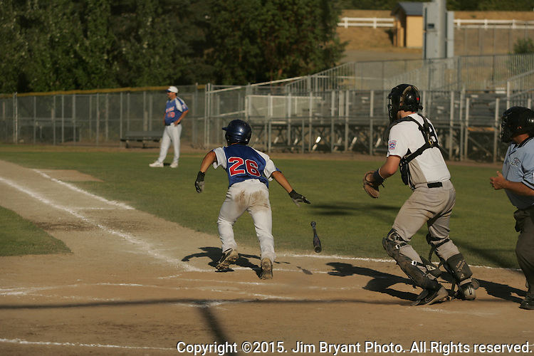 Hosts vs. NCA in game 2 of the 2015 West Central District 2 BLBB playoffs at Blue Jacket Stadium in Silverdale Washington. ©2015. Jim Bryant photo. All Rights Reserved.