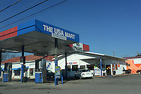 The USA Mart which boasts sign declaring its products to be ethanol-free in Murfreesboro, Tennessee on January 4, 2012.