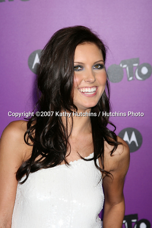 "Audrina Patridge.Motorola 9 Party.""The Lot"".Los Angeles,  CA.November 8, 2007.©2007 Kathy Hutchins / Hutchins Photo...               ."