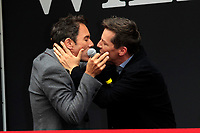 """LOS ANGELES - AUG 2:  Eric McCormack, Sean Hayes at the """"Will & Grace"""" Start of Production Kick Off Event at the Universal Studios on August 2, 2017 in Universal City, CA"""