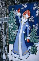 Europe-Asie/Russie/Env Saint-Petersbourg/Pavlovsk: Le parc de Pavlovsk - Représentation de la fille des neiges