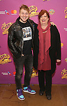 F. Michael Haynie and Kathy Fitzgerald attend the ''Charlie and the Chocolate Factory' Cast Photo Call at the New 42nd Street Studios on February 21, 2017 in New York City.