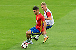 Marco Asensio  and Gerard Deulofeu during Spain training session at Santiago Bernabeu Stadium in Madrid, Spain September 01, 2017. (ALTERPHOTOS/Borja B.Hojas)