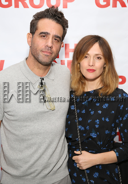 Bobby Cannavale and Rose Byrne attends the World Premiere of Hamish Linklater's 'The Whirligig' at Green Fig's Social Drink and Food Club Terrace on May 21, 2017 in New York City.
