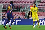 League Santander 2017/2018 - Game: 7.<br /> FC Barcelona vs UD Las Palmas: 3-0.<br /> Paulinho vs Alberto Aquilani.