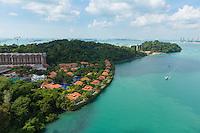 Sentosa Villas Aerial View, Singapore