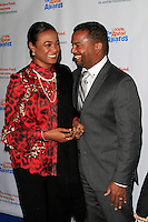 LOS ANGELES - DEC 3: Tatyana Ali, Alfonso Ribeiro at The Actors Fund's Looking Ahead Awards at the Taglyan Complex on December 3, 2015 in Los Angeles, California
