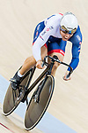 Ryan Owens of the Great Britain team competes in the Men's Sprint - Qualifying as part of the 2017 UCI Track Cycling World Championships on 14 April 2017, in Hong Kong Velodrome, Hong Kong, China. Photo by Chris Wong / Power Sport Images
