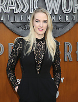 LOS ANGELES, CA - JUNE 12: Emily Carmichael, at Jurassic World: Fallen Kingdom Premiere at Walt Disney Concert Hall, Los Angeles Music Center in Los Angeles, California on June 12, 2018. <br /> CAP/MPIFS<br /> &copy;MPIFS/Capital Pictures