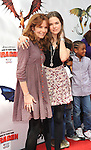 UNIVERSAL CITY, CA. - March 21: Lea Thompson and daughter Zoe arrives at the premiere of ''How To Train Your Dragon'' at Gibson Amphitheater on March 21, 2010 in Universal City, California.