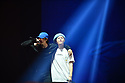 CORAL GABLES, FL - FEBRUARY 07: Hyunjin and Han of South Korean Boy band Stray Kids performs on stage during Stray Kids World Tour 'District 9 : Unlock' in Miami at Watsco Center on February 7, 2020 in Coral Gables, Florida. ( Photo by Johnny Louis / jlnphotography.com )