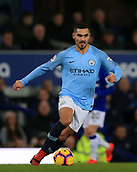 6th February 2019, Goodison Park, Liverpool, England; EPL Premier League Football, Everton versus Manchester City; Ilkay Gundogan of Manchester City races forward with the ball