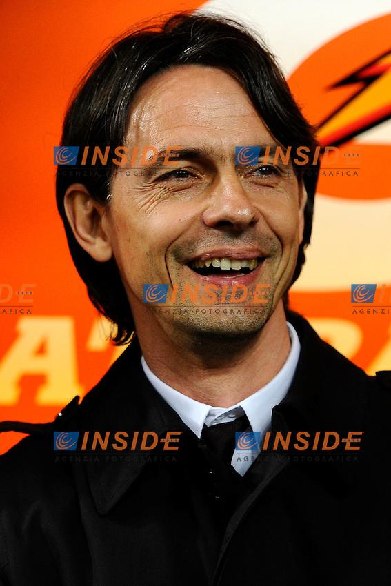 Filippo Inzaghi Milan<br /> Milano 21-03-2015 Stadio Giuseppe Meazza - Football Calcio Serie A Milan - Cagliari. Foto Giuseppe Celeste / Insidefoto